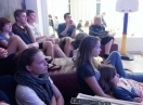 2012-04-05 es wird - Germany next top model - geschaut